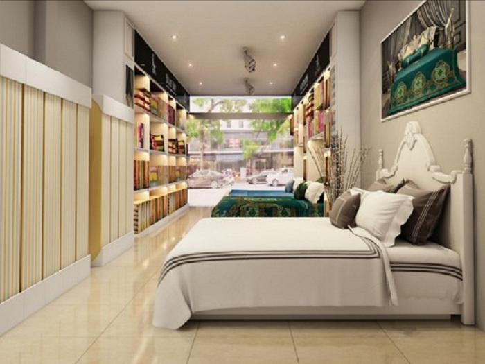 1- Cách thiết kế showroom chăn ga gối đệm tăng nhanh lợi nhuận