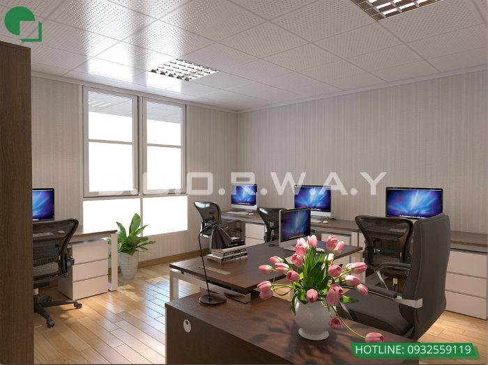 12- Top 4 mẫu thiết kế văn phòng đẹp khơi nguồn sáng tạo