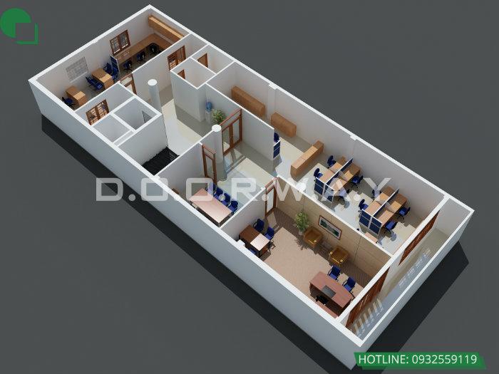 2- Top 4 mẫu thiết kế văn phòng đẹp khơi nguồn sáng tạo