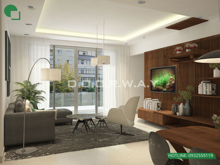 2-nội thất căn hộ 140m2 hà nội paragon