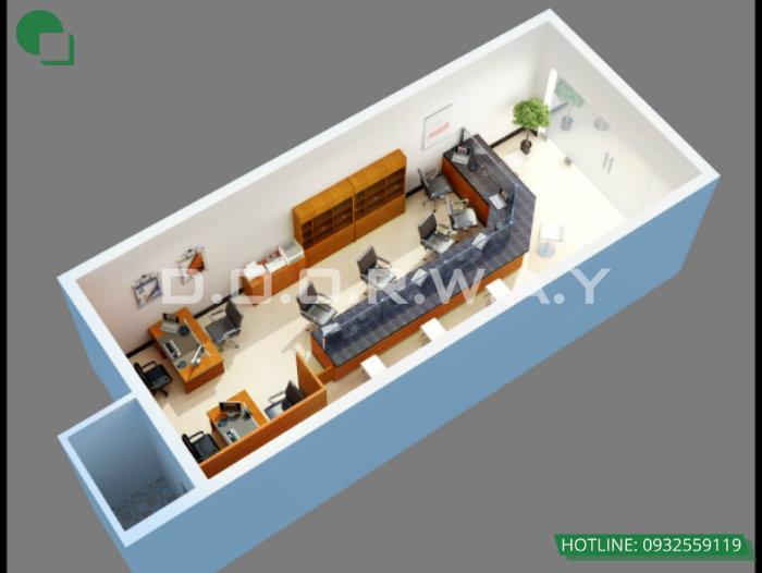 3- Top 4 mẫu thiết kế văn phòng đẹp khơi nguồn sáng tạo