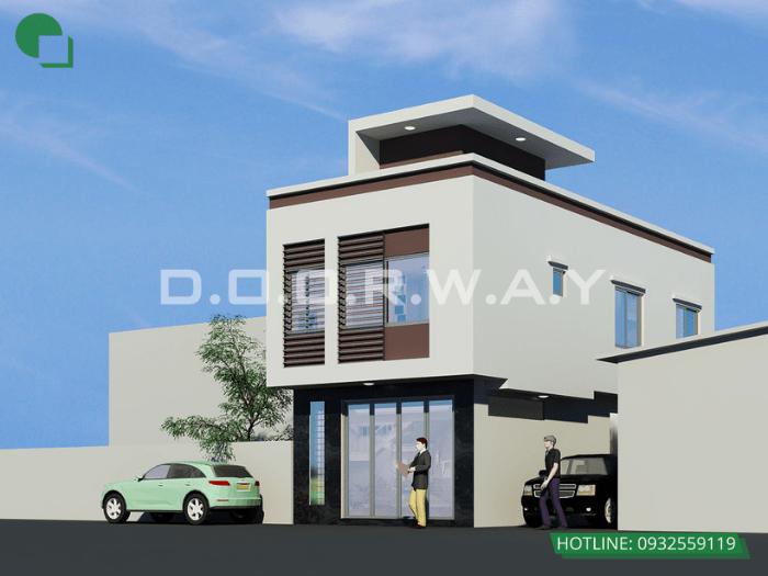 3- Mẫu thiết kế nhà 6mx12m 2 tầng full nội thất tại Hà Nội