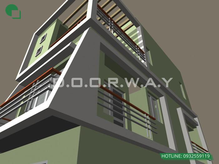 3-thiết kế nhà phố 30m2