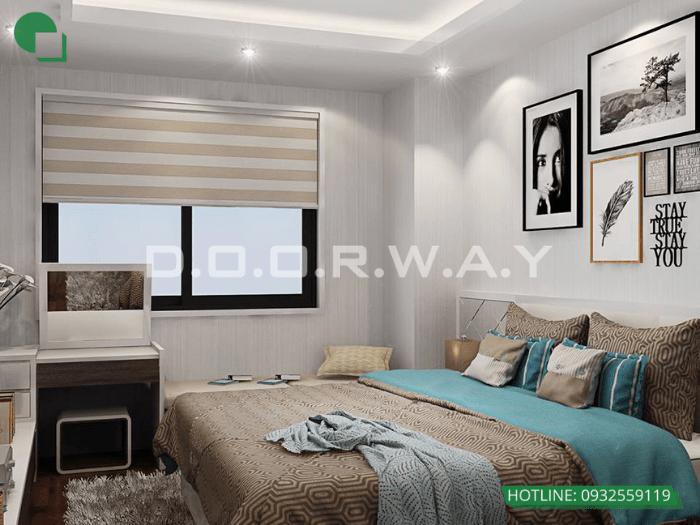 3- Làm thế nào để thiết kế phòng ngủ 16m2 có toilet thật thông minh?
