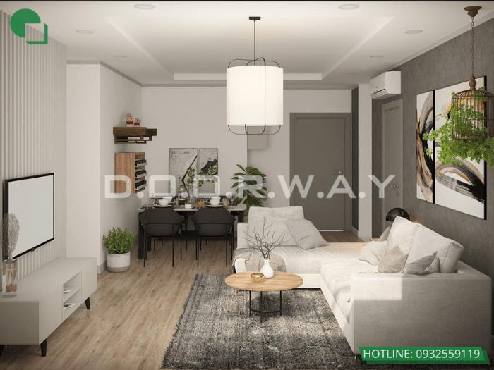 4- Mẫu thiết kế nhà 6mx12m 2 tầng full nội thất tại Hà Nội