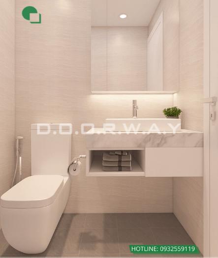 4- Làm thế nào để thiết kế phòng ngủ 16m2 có toilet thật thông minh?