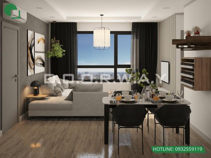 5- Mẫu thiết kế nhà 6mx12m 2 tầng full nội thất tại Hà Nội