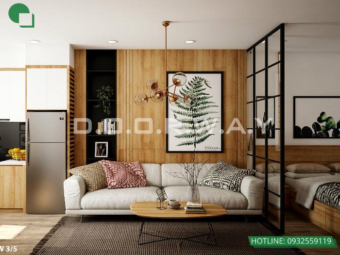 6- 5 mẫu thiết kế căn hộ cho thuê tạo ấn tượng đẹp với khách hàng