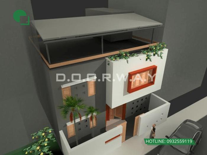 6- thiết kế nhà đẹp 2 tầng 70m2