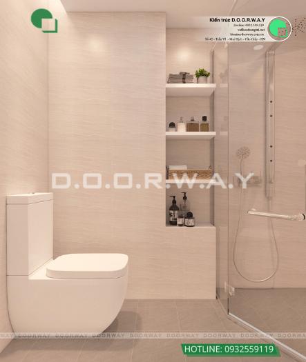 8- Làm thế nào để thiết kế phòng ngủ 16m2 có toilet thật thông minh?