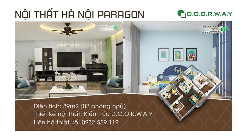 Ảnh tiêu biểu- Nội thất căn hộ 89m2 Hà Nội Paragon cho vợ chồng trẻ