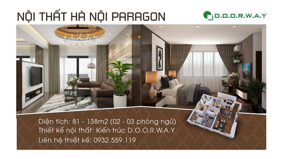 Ảnh tiêu biểu- Thiết kế nội thất chung cư Hà Nội Paragon đẹp nhất 2019