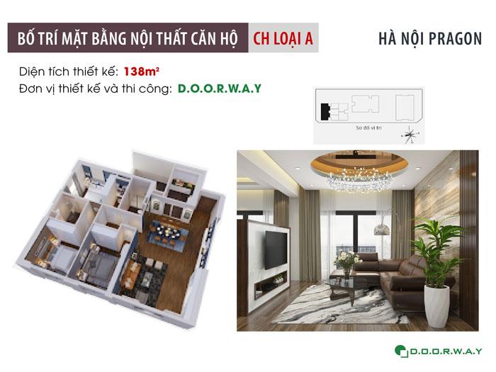 MB-138m2 - Chọn đồ nội thất căn 3 phòng ngủ Hà Nội Paragon