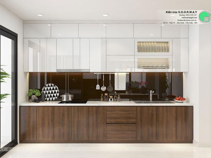 PB1- Khám phá mẫu nội thất căn hộ 102m2 Hà Nội Paragon
