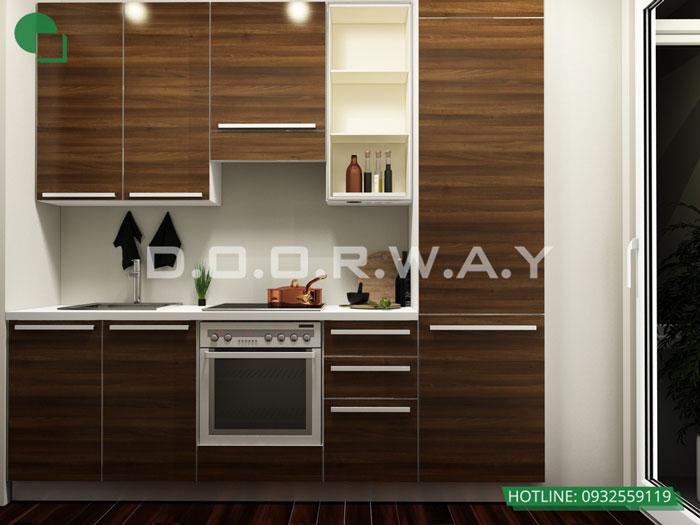 PB(1)- Thiết kế nội thất căn hộ 59m2 Hateco Apollo - Căn hộ A1