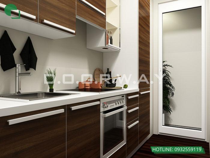 PB(2)- Thiết kế nội thất căn hộ 59m2 Hateco Apollo - Căn hộ A1