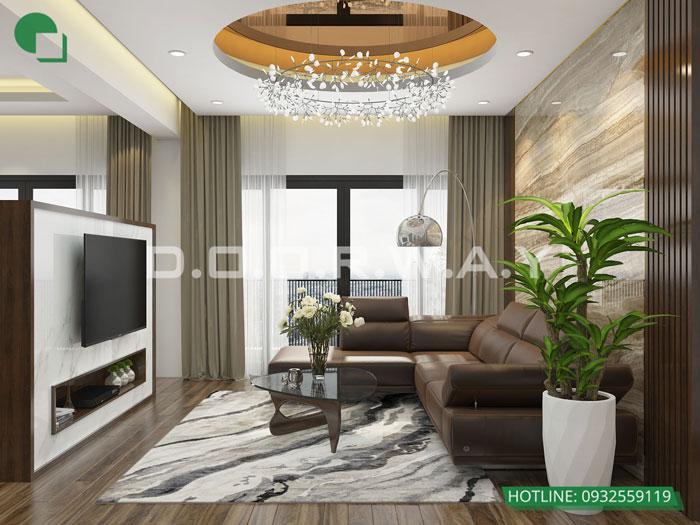 PK1- Khám phá mẫu nội thất căn hộ 102m2 Hà Nội Paragon