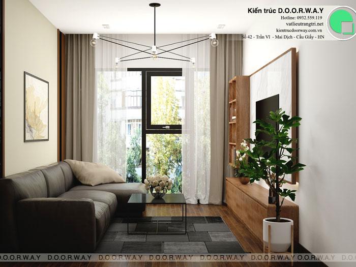 PK(1)- Xem ngay mẫu nội thất căn hộ 107m2 Hà Nội Paragon - 3PN đẹp