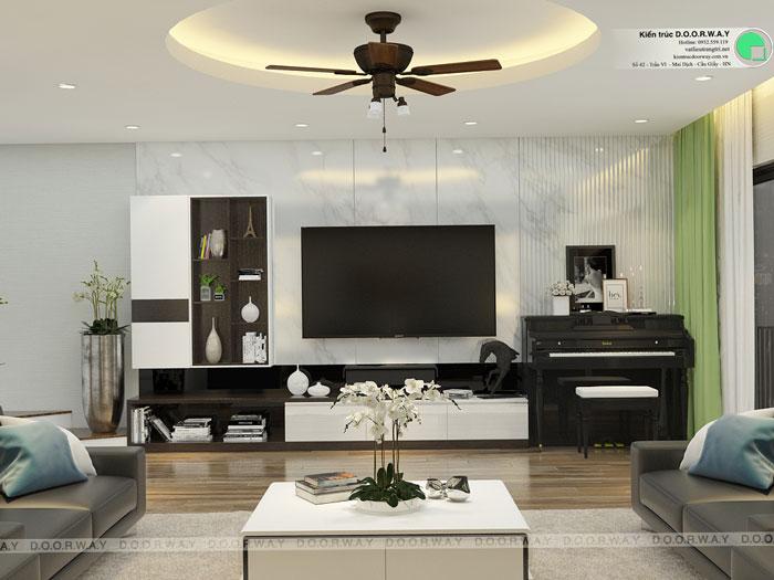 PK2- Nội thất căn hộ 89m2 Hà Nội Paragon cho vợ chồng trẻ