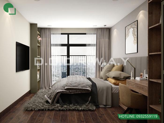 PN1(2)- Khám phá mẫu nội thất căn hộ 102m2 Hà Nội Paragon