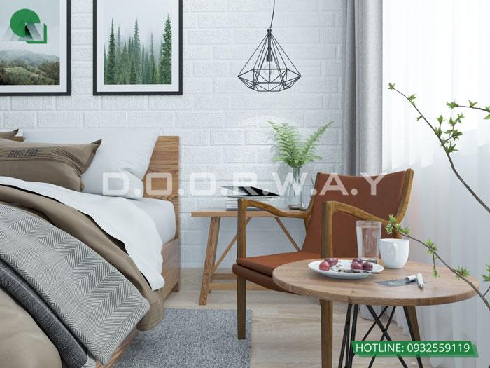 PN1(2)- Xem ngay mẫu nội thất căn hộ 107m2 Hà Nội Paragon - 3PN đẹp