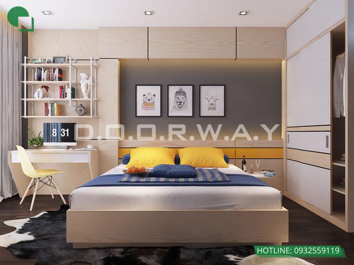 PN3(1)- Khám phá mẫu nội thất căn hộ 102m2 Hà Nội Paragon
