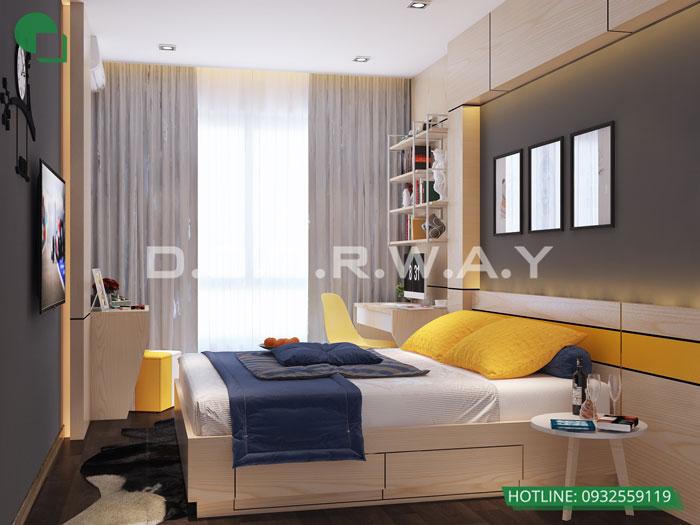 PN3(2)- Khám phá mẫu nội thất căn hộ 102m2 Hà Nội Paragon