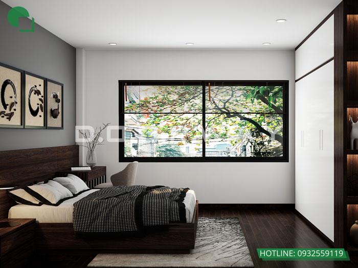 PN3(2)- Xem ngay mẫu nội thất căn hộ 107m2 Hà Nội Paragon - 3PN đẹp