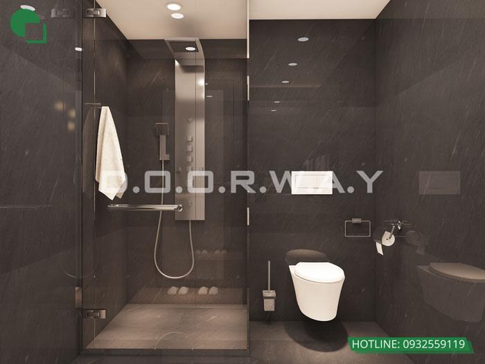 WC(1)- Xem ngay mẫu nội thất căn hộ 107m2 Hà Nội Paragon - 3PN đẹp