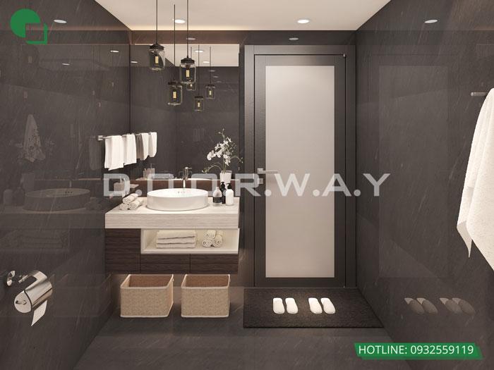 WC(2)- Xem ngay mẫu nội thất căn hộ 107m2 Hà Nội Paragon - 3PN đẹp