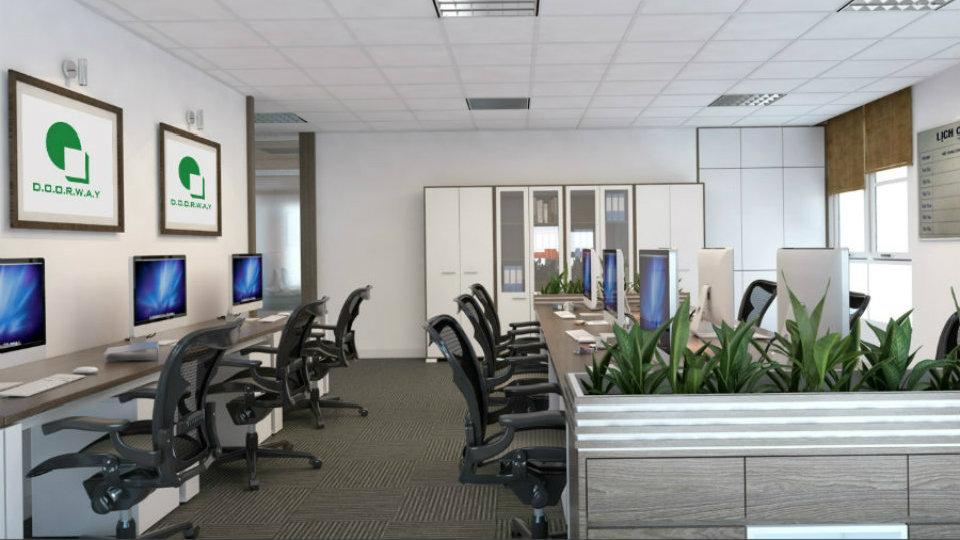 Ảnh tiêu biểu- Top 4 mẫu thiết kế văn phòng đẹp khơi nguồn sáng tạo
