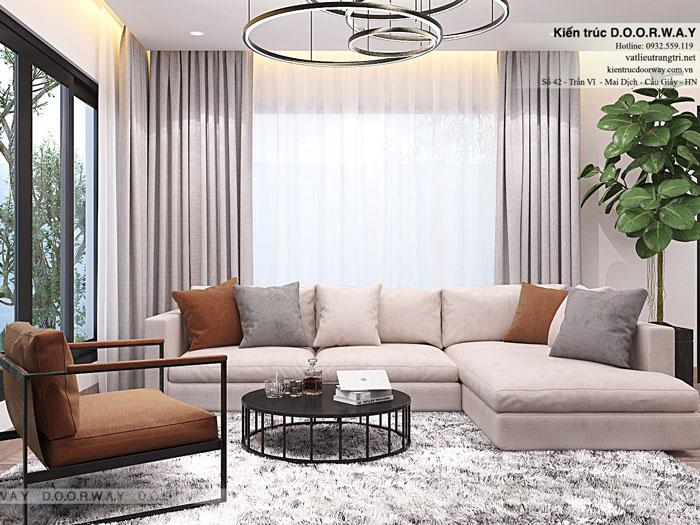 1- Mẫu nội thất phòng khách đẹp nhất 2019 cho mọi ngôi nhà Việt