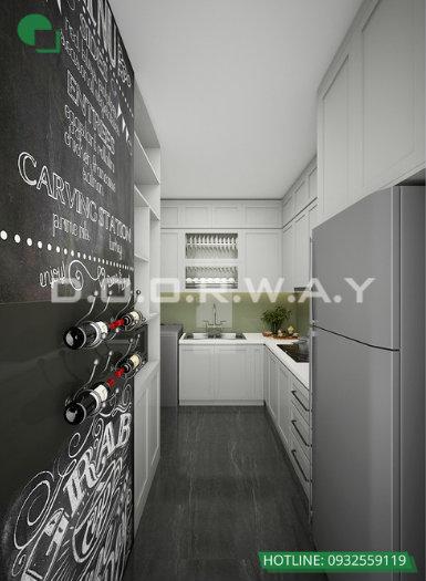 1- Gợi ý mẫu thiết kế nội thất phòng bếp chị em phụ nữ nào cũng thích mê