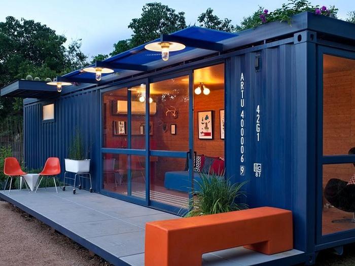 1- Khám phá 4 thiết kế nội thất nhà container nổi tiếng thế giới