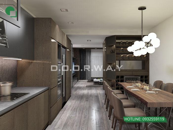 1-nội thất phòng bếp nhà ống