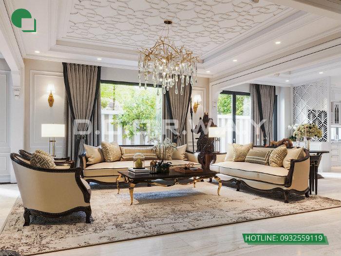 2- Mẫu nội thất phòng khách đẹp nhất 2019 cho mọi ngôi nhà Việt