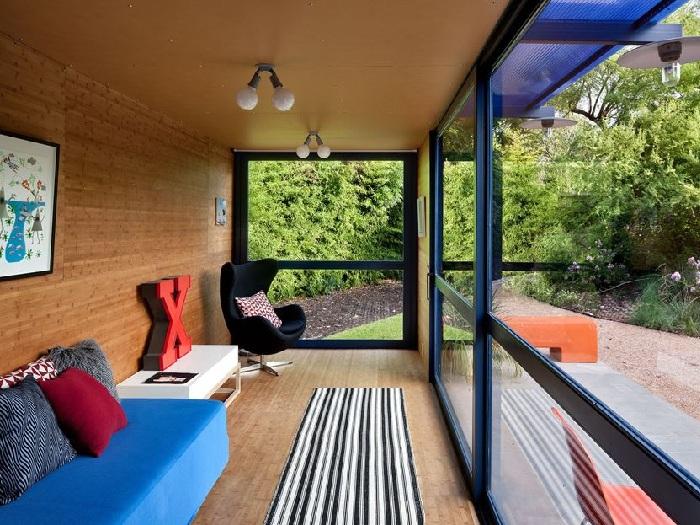 2- Khám phá 4 thiết kế nội thất nhà container nổi tiếng thế giới