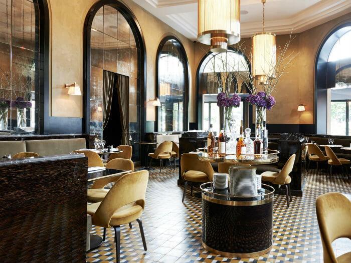 2- Mách bạn thiết kế nhà hàng phong cách châu Âu hiện đại sang chảnh