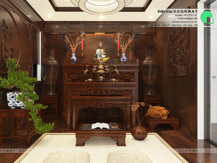 3-nội thất phòng thờ hiện đại