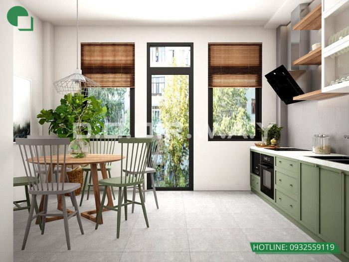4- Gợi ý mẫu thiết kế nội thất phòng bếp chị em phụ nữ nào cũng thích mê