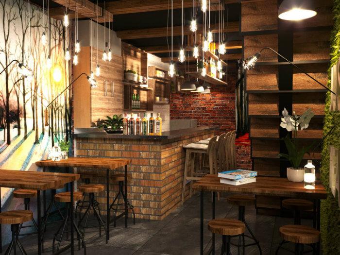 4- Mẹo thiết kế quán cafe phong cách Vintage làm say đắm khách hàng