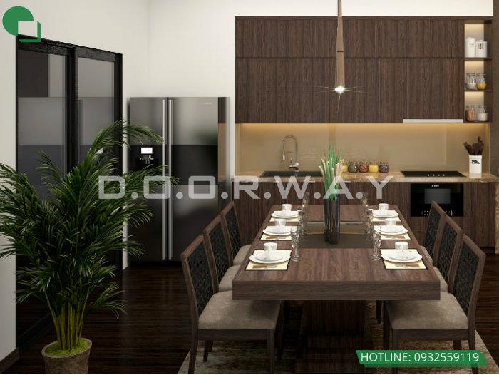 5- Gợi ý mẫu thiết kế nội thất phòng bếp chị em phụ nữ nào cũng thích mê