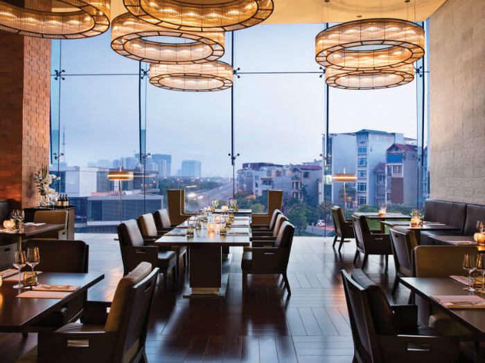 5- Mách bạn thiết kế nhà hàng phong cách châu Âu hiện đại sang chảnh