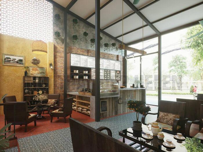5- Mẹo thiết kế quán cafe phong cách Vintage làm say đắm khách hàng