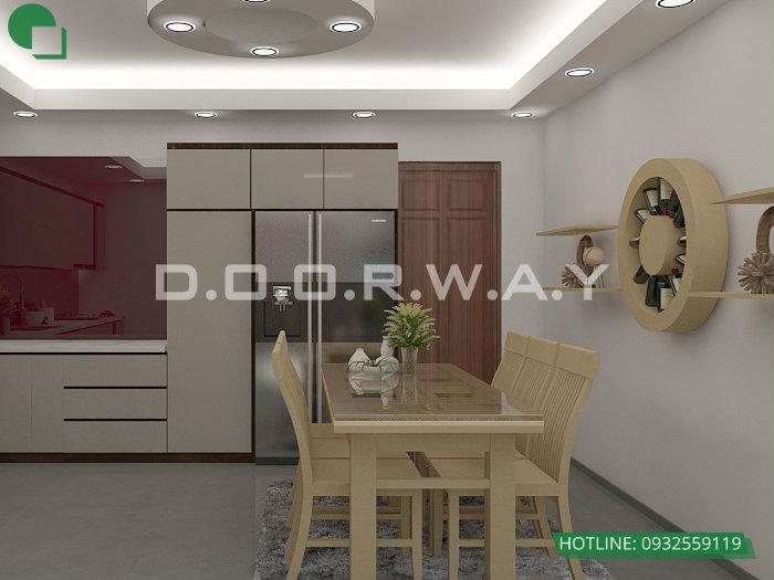 7- Gợi ý mẫu thiết kế nội thất phòng bếp chị em phụ nữ nào cũng thích mê