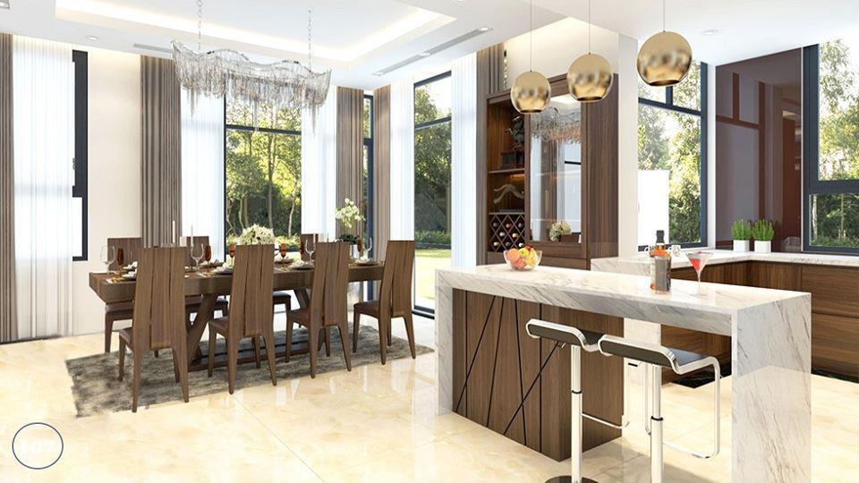 Ảnh tiêu biểu- Gợi ý mẫu thiết kế nội thất phòng bếp chị em phụ nữ nào cũng thích mê