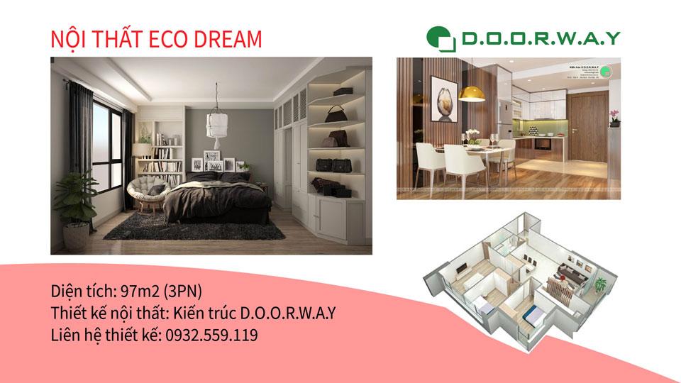 Ảnh tiêu biểu- Hướng dẫn chọn nội thất căn hộ 97m2 Eco Dream - 2019