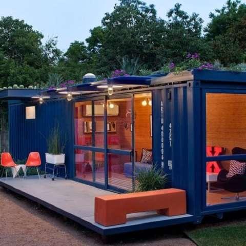 Ảnh tiêu biểu- Khám phá 4 thiết kế nội thất nhà container nổi tiếng thế giới