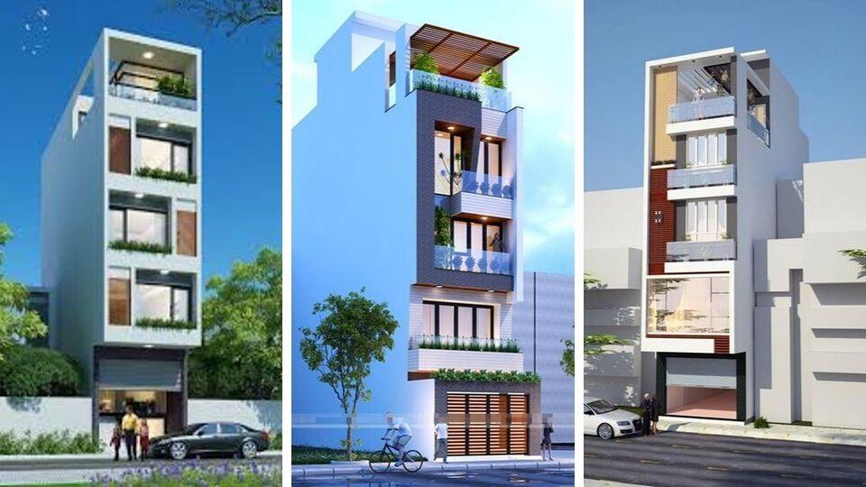 Ảnh tiêu biểu- Mẫu thiết kế nhà 5x15m có thang máy full nội thất
