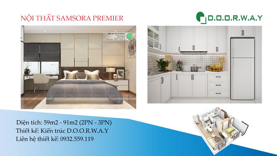 Ảnh tiêu biểu- [New] Thiết kế nội thất chung cư Samsora Premier Hà Đông